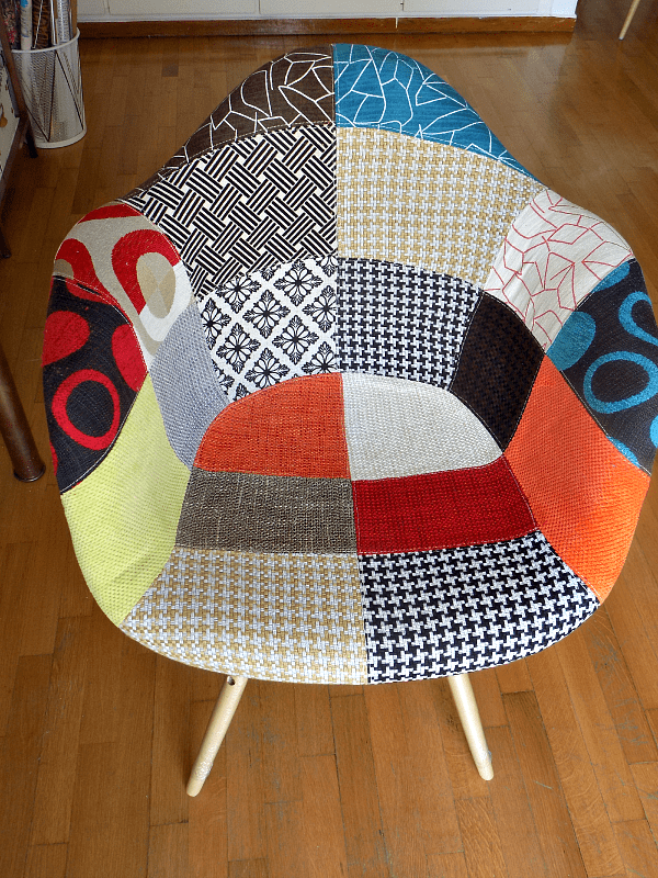 Replica Eames patchwork chair