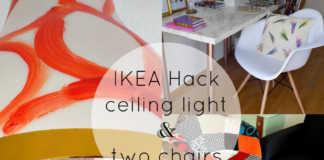 Μεταμόρφωση φωτιστικού ΙΚΕΑ hack