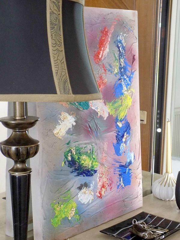 Πίνακας 3D diy για χρώμα στην είσοδο