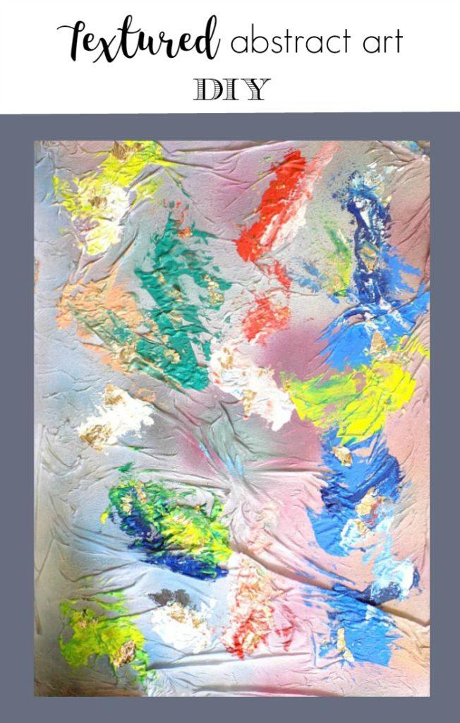 Πίνακας 3D diy, πολύχρωμος κι εύκολος στην εκτέλεση του γιατί δεν χρειάζεται να είσαι ζωγράφος για να τον φτιάξεις με τα πιο απλά υλικά που έχεις | 3D Abstract art diy