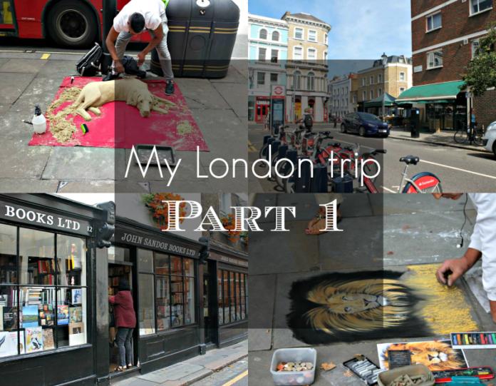 Βόλτα στο Λονδίνο, Μέρος 1ο