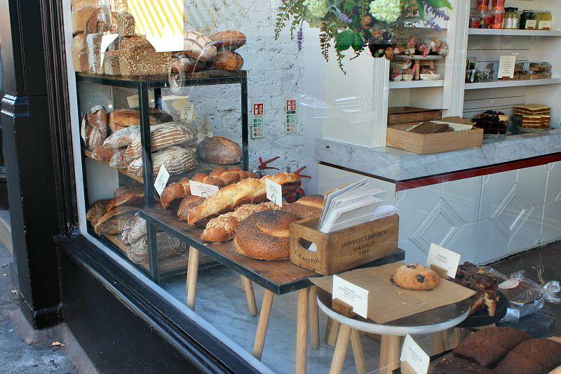 Βόλτα στο Λονδίνο, Μέρος 1ο, Bakery shop at Chelsea