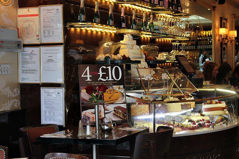 Βόλτα στο Λονδίνο, Μέρος 1ο, Pastry shop at Chelsea