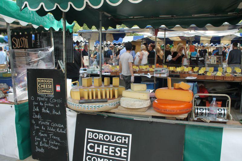 Βόλτα στο Λονδίνο Μέρος 1ο, Flea market, food market