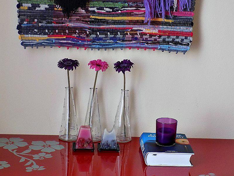 Διακόσμηση σε τόνους ροζ μωβ