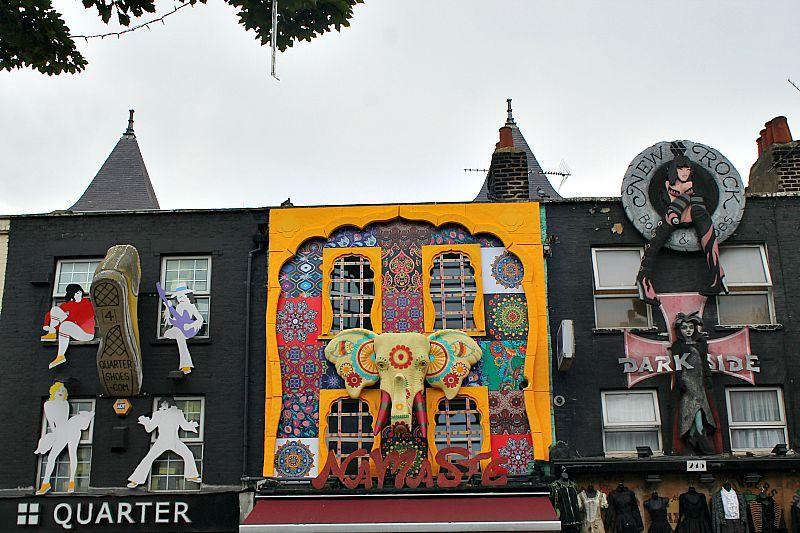 Camden Market, London, Wall art