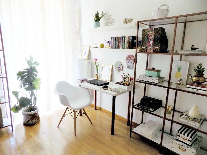 Το γραφείο μου στο σπίτι, η γωνιά του γραφείου, Desk office corner
