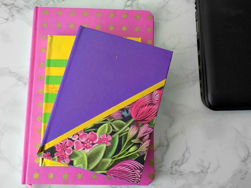 Notebooks cover ideas diy