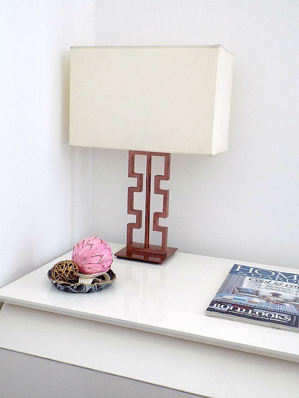 Το γραφείο μου στο σπίτι, Table lamp diy