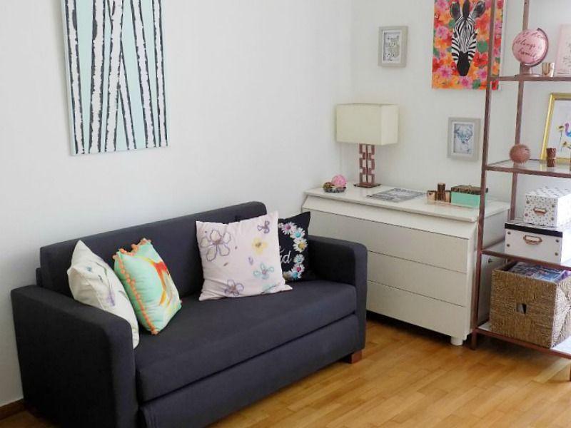 Το γραφείο μου στο σπίτι, ο καναπές, Home office, the sofa and the dresser