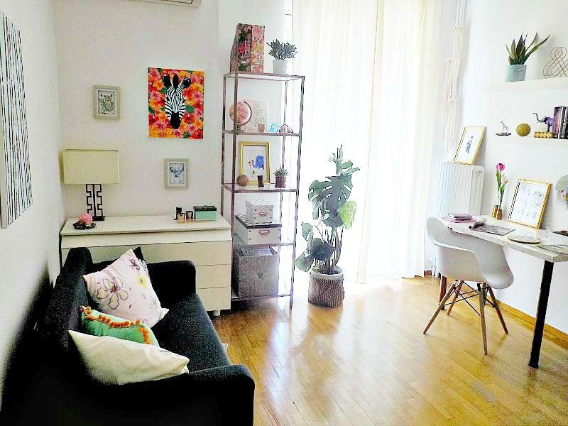 Το γραφείο μου στο σπίτι, ο καναπές, Home office, the sofa
