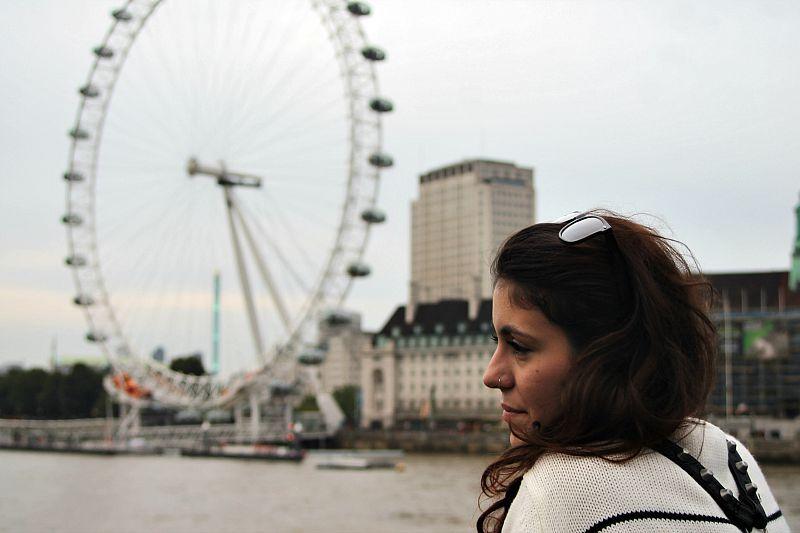 Βόλτα στην πόλη του Λονδίνου Μέρος 2ο, London eye