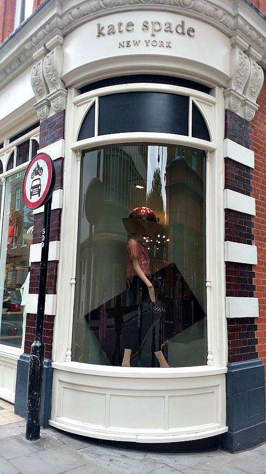 Βόλτα στην πόλη του Λονδίνου Μέρος 2ο, Kate Spade shop