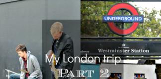 Βόλτα στην πόλη του Λονδίνου Μέρος 2ο