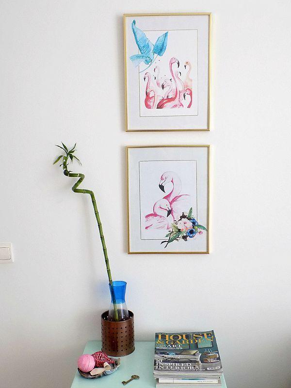 Το γραφείο μου στο σπίτι, Printables on the wall