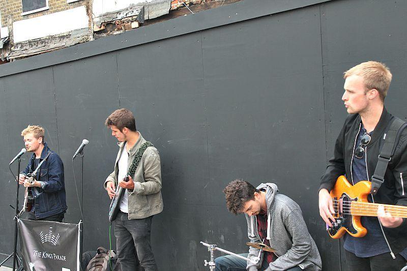 Camden, London, music on the street