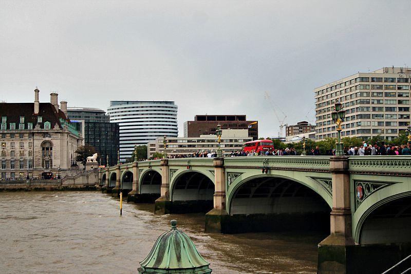 Βόλτα στην πόλη του Λονδίνου, Westminister bridge