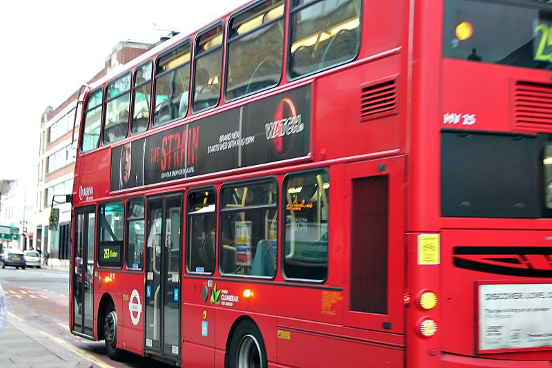 Red bus London City