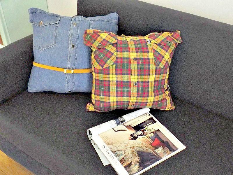 Διακοσμητικά μαξιλάρια χωρίς ράψιμο