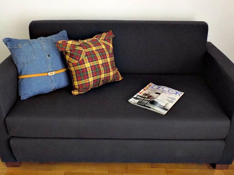 Διακοσμητικά μαξιλάρια καναπέ χωρίς ράψιμο