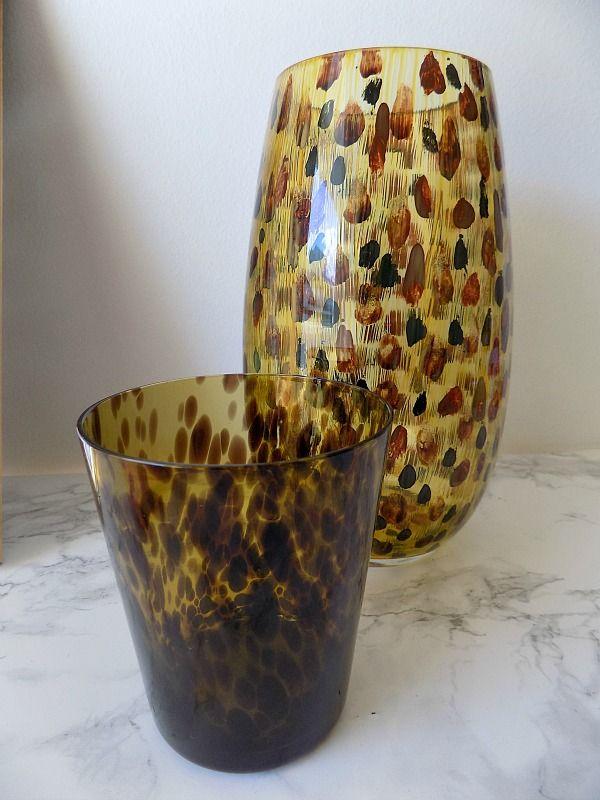 tortoise shell vase diy