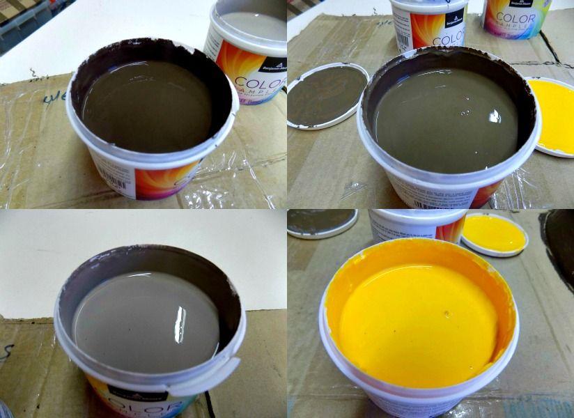 Sample paints