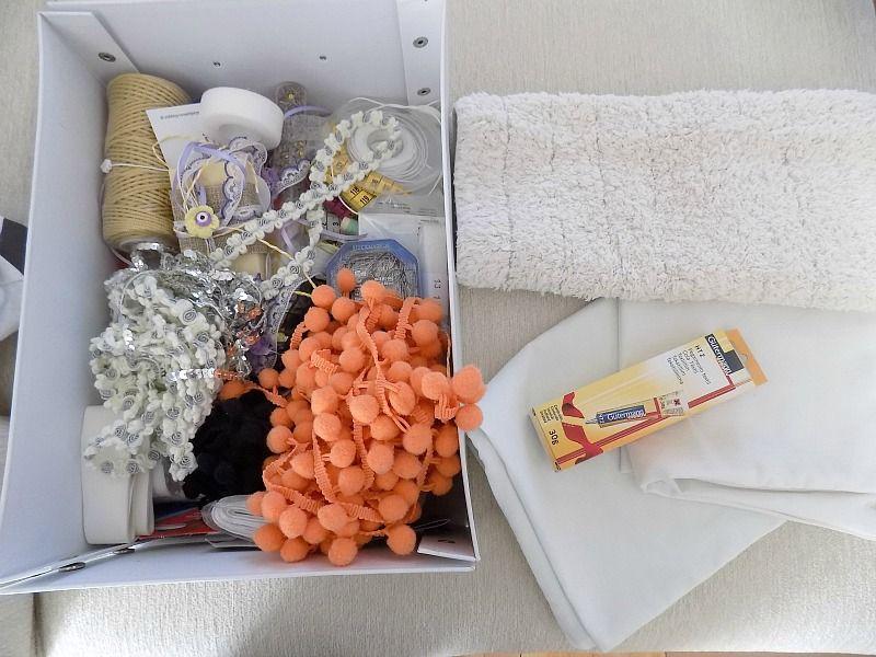 Μαξιλάρια για πολλές χρήσεις, τα υλικά