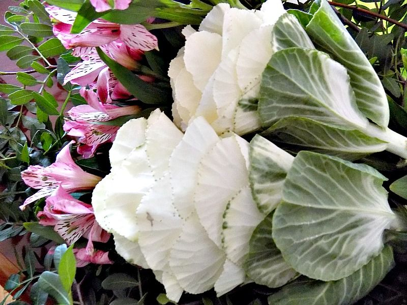 Μπουκέτο με όμορφα λουλούδια