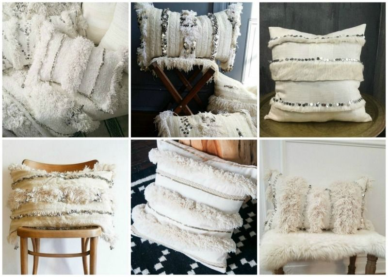 Moroccan wedding pillows