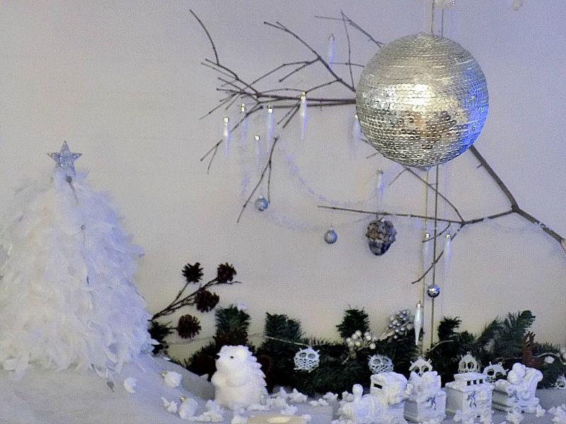 Χριστουγεννιάτικη disco μπάλα
