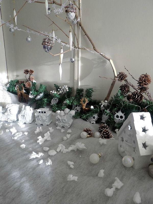 Χιονισμένο τοπίο τα Χριστούγεννα