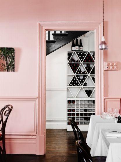 Υπέροχος ροζ τοίχος