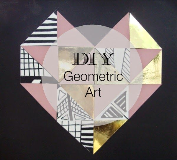 Geometric art diy