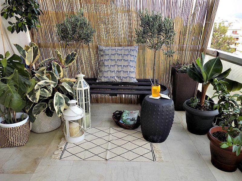 Πως έφτιαξα ένα παγκάκι για την βεράντα μας από μία παλέτα, καλοκαιρινή διακόσμηση στο μπαλκόνι