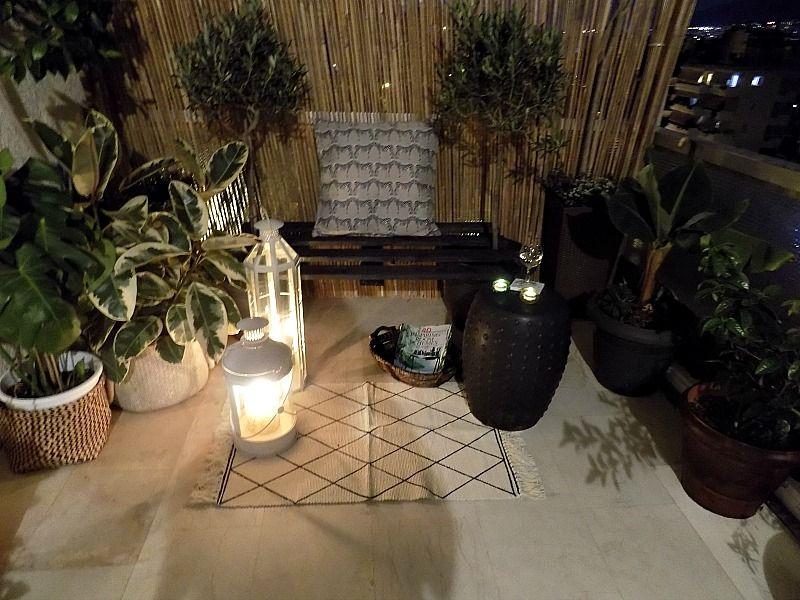 Πως έφτιαξα ένα παγκάκι για την βεράντα μας από μία παλέτα, καλοκαιρινό βράδι