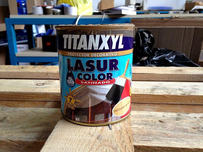 Titanxyl lasur varnish