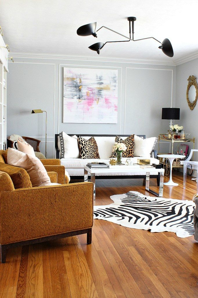 how to mix metals in your decoration