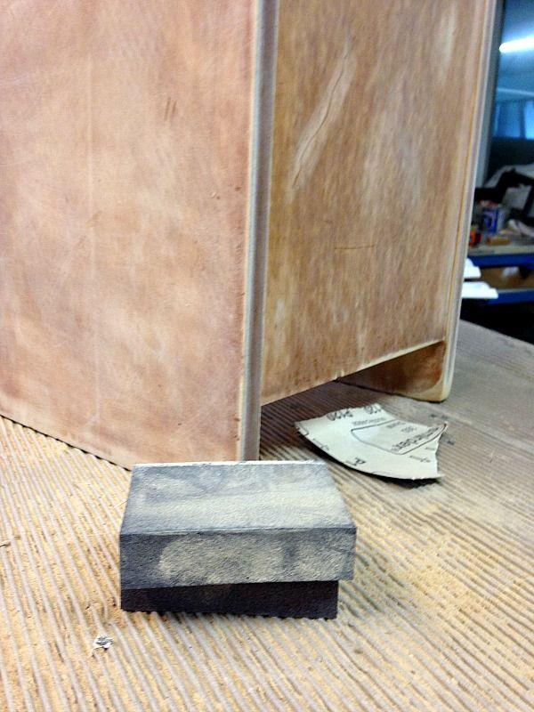 γυαλόχαρτο-και-ξύλο
