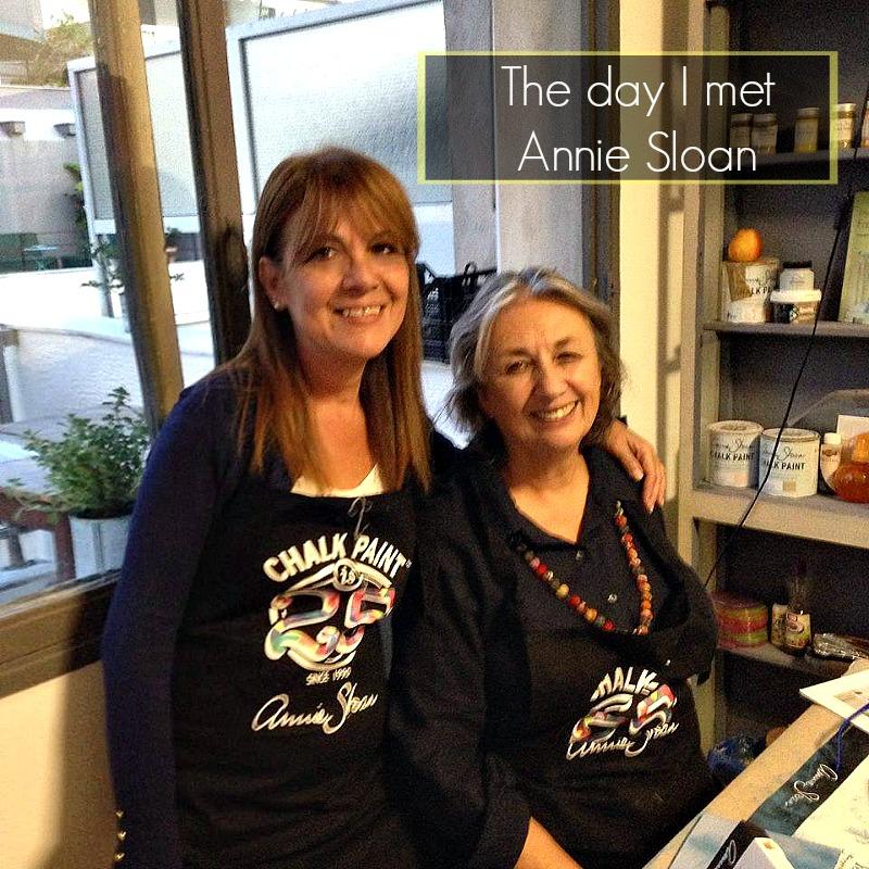 Όταν συνάντησα την Annie Sloan