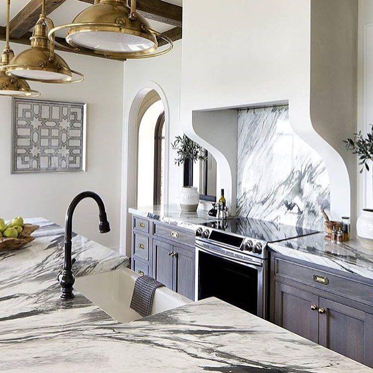 Callacata marble kitchen countertops