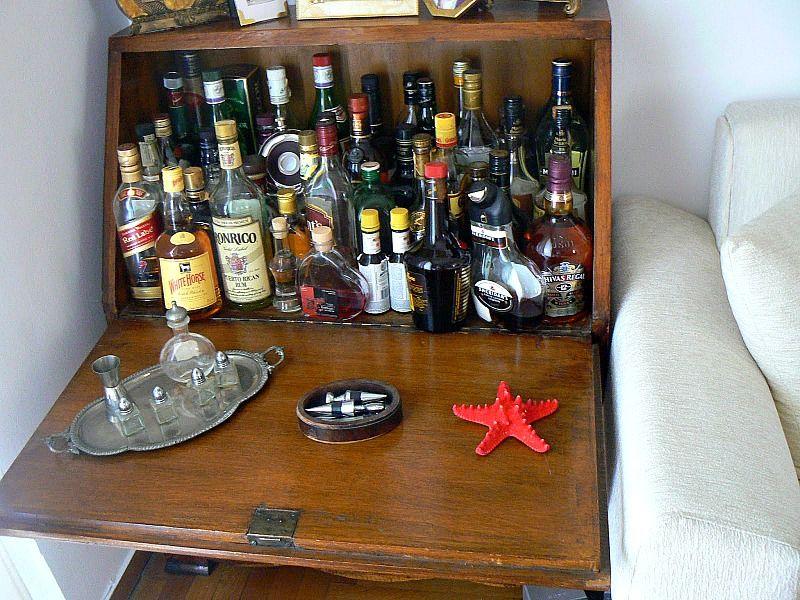 Old mini bar