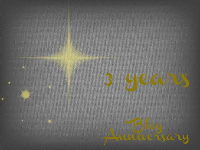 Τρία χρόνια, έχουμε γενέθλια