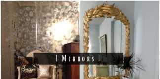 Αναπαλαίωση παλιού καθρέφτη