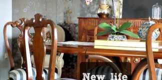 Κλασσικές καρέκλες τραπεζαρίας αλλάζουν εμφάνιση | How to give a modern look to old dinging chairs