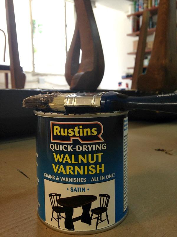 Walnut varnish