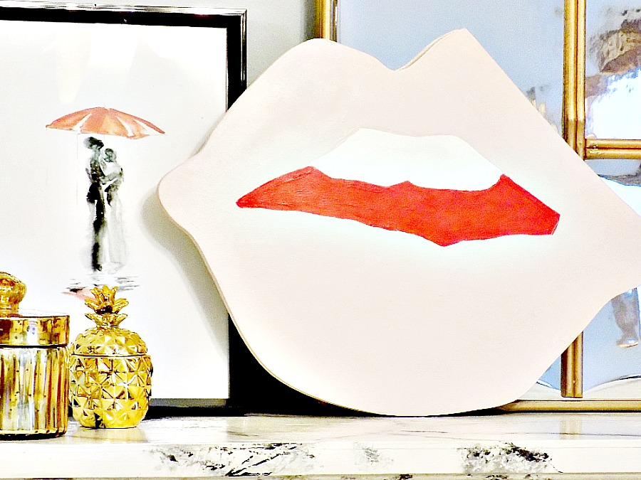 Pop art διακοσμητικό για την ημέρα του Αγίου Βαλεντίνου