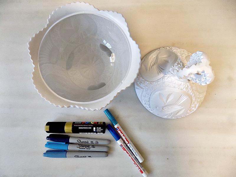 Πως να αλλάξεις εμφάνιση βάφοντας και ζωγραφίζοντας μία vintage φοντανιέρα