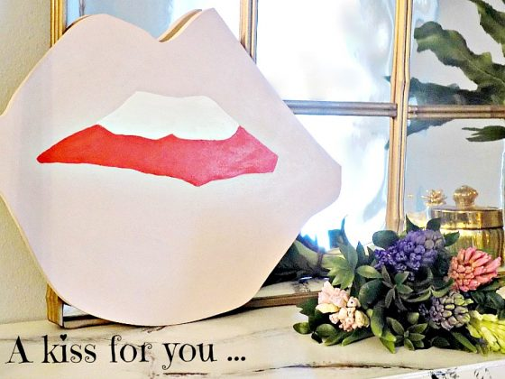 Valentines art, ένα φιλί για σένα