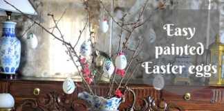 Εύκολα πασχαλινά διακοσμητικά αβγά