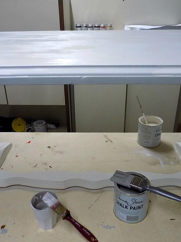 Ανανέωση για ένα παλιό τραπέζι, Annie Sloan Paris Grey